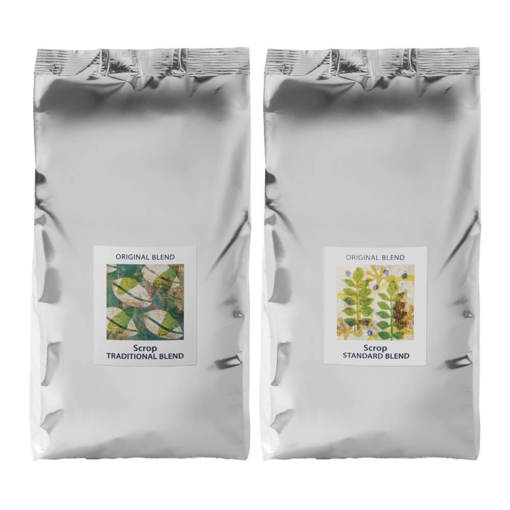 【まとめ買い コーヒー豆】Scropハウスブレンドセット 大容量 1kg[500g×2種]